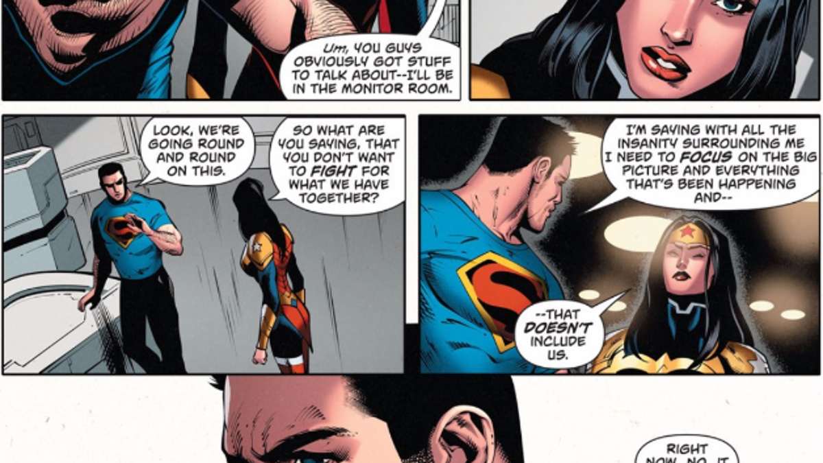 did superman and wonder woman ever hook up