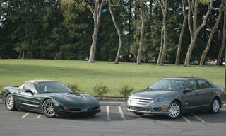 Illustration for article titled The GREEN Rally Challenge: Corvette Vs Fusion Hybrid