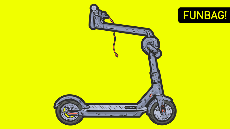 Illustration for article titled Down With Big Scooter