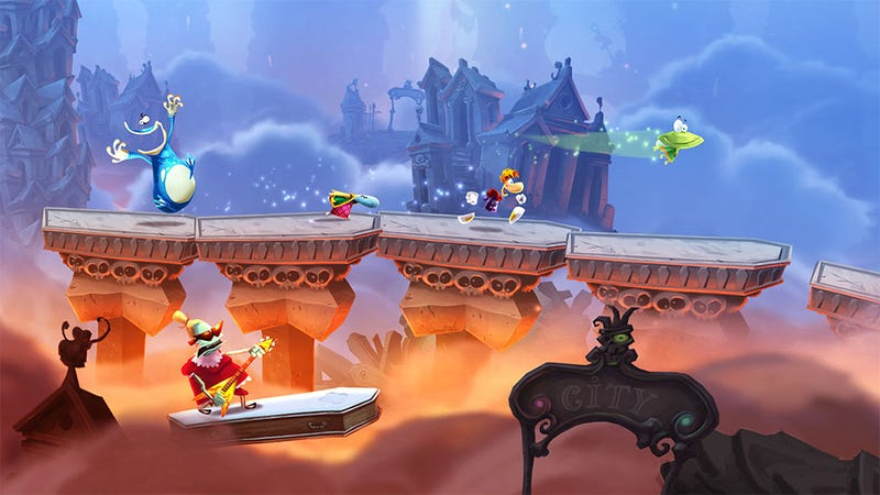 Illustration for article titled Report: Turns Out Some Versions Of Rayman Legends WERE Missing Stuff