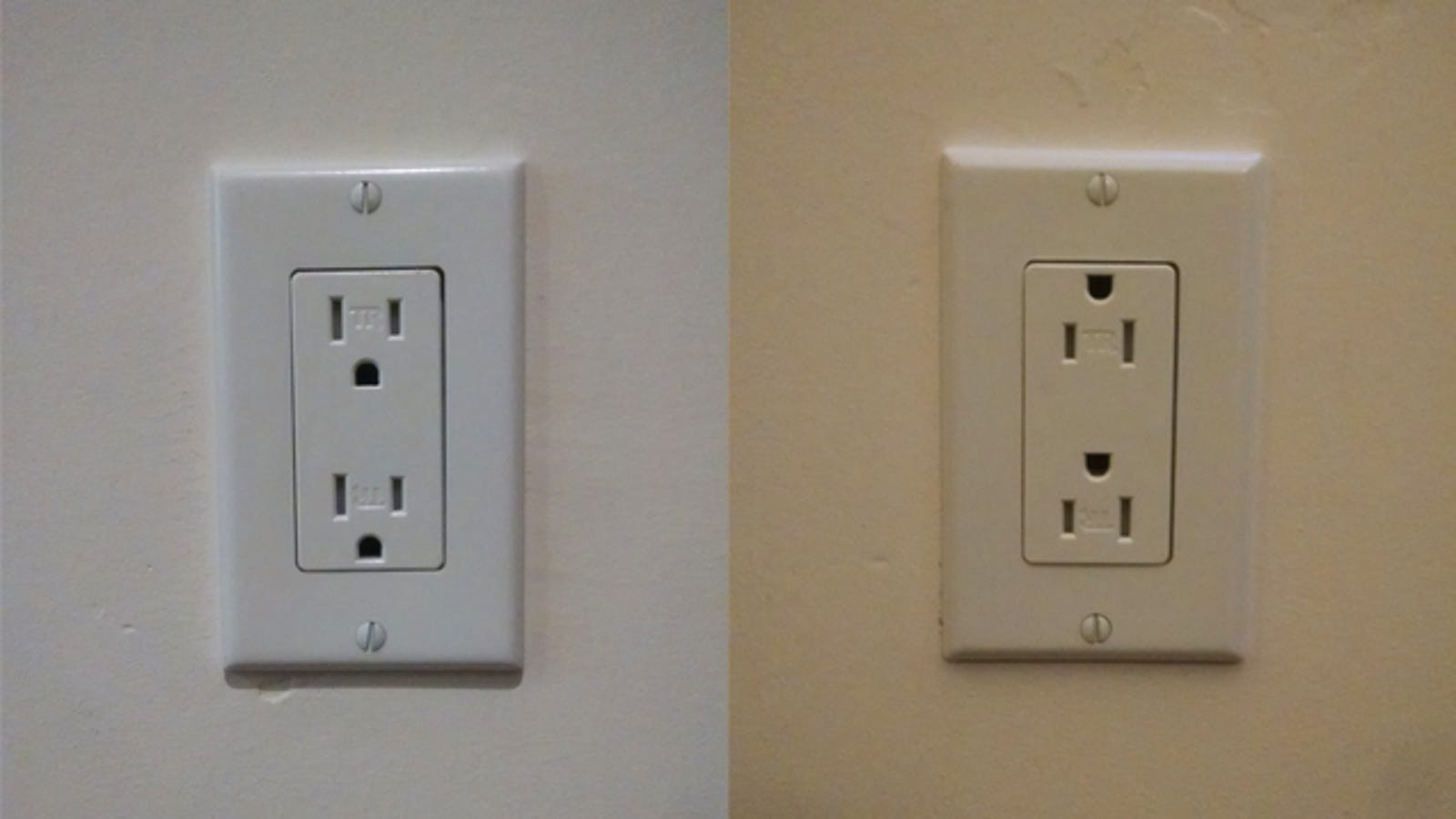 Find The Switch Controlled Outlets In Your Home Look For Upside Down Wiring Off Outlet