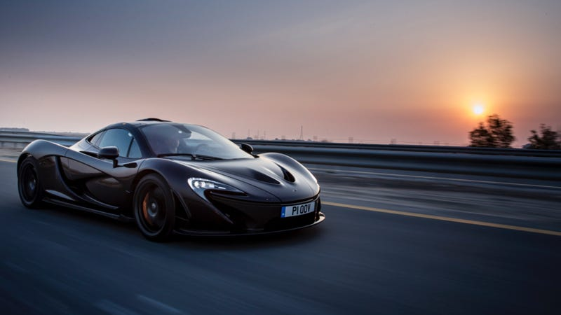 Illustration for article titled Sadness, Tears, And Mourning: The McLaren P1 Reaches The End Of Production