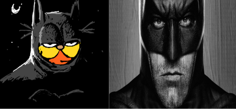 Illustration for article titled Ben Affleck Is Human Version Of Garfield - Human Garfield Might Direct Solo Batman Movie In 2018