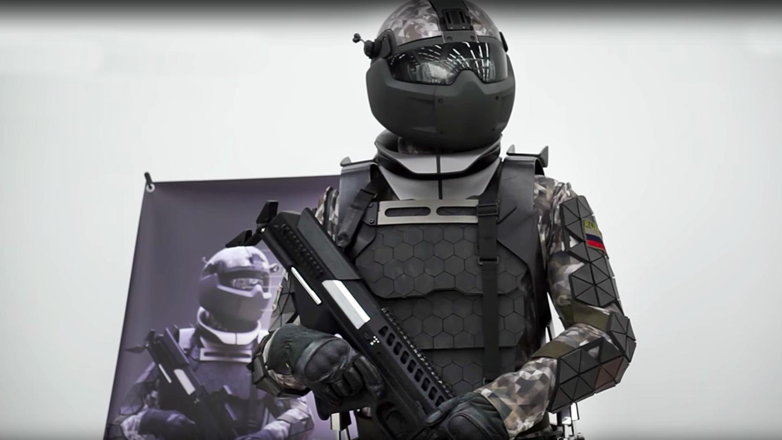 A prueba de balas, fuego y minas: así es el nuevo traje táctico de combate del ejército ruso