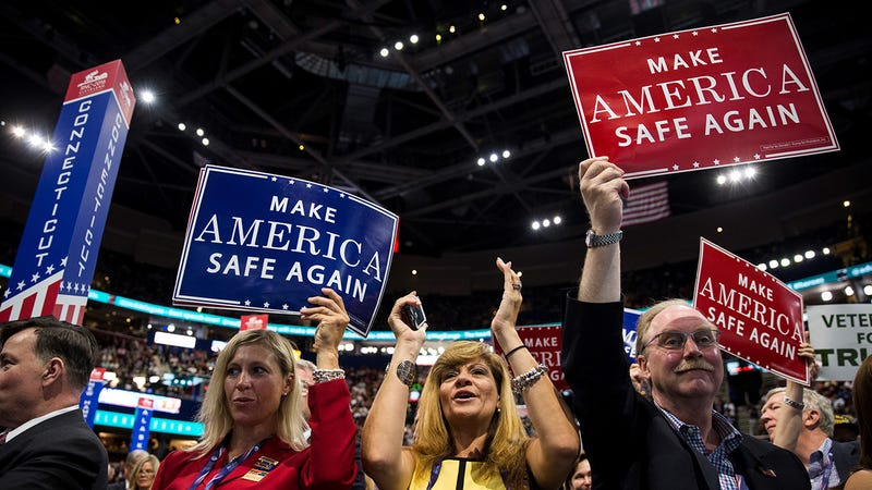 Everything You Need to Know About Yesterday's Chaotic First Day at the RNC