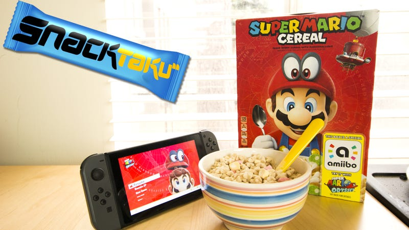 Mario Deserves Better Than Knock Off Lucky Charms