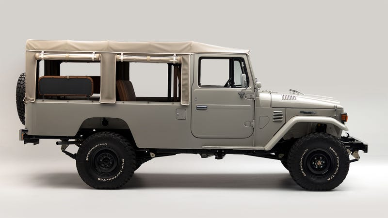 It's the rickety off-road limo of your dreams. (Image Credits: FJ Company)