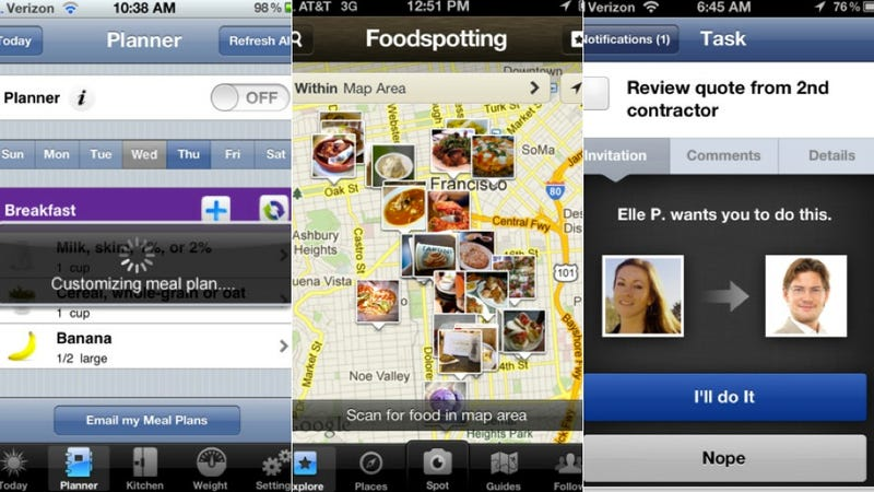 Illustration for article titled Foodspotting, The Weather Channel, and More