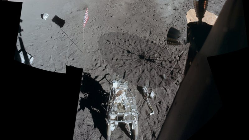 Illustration for article titled Apollo 14 visited the Moon forty years ago today