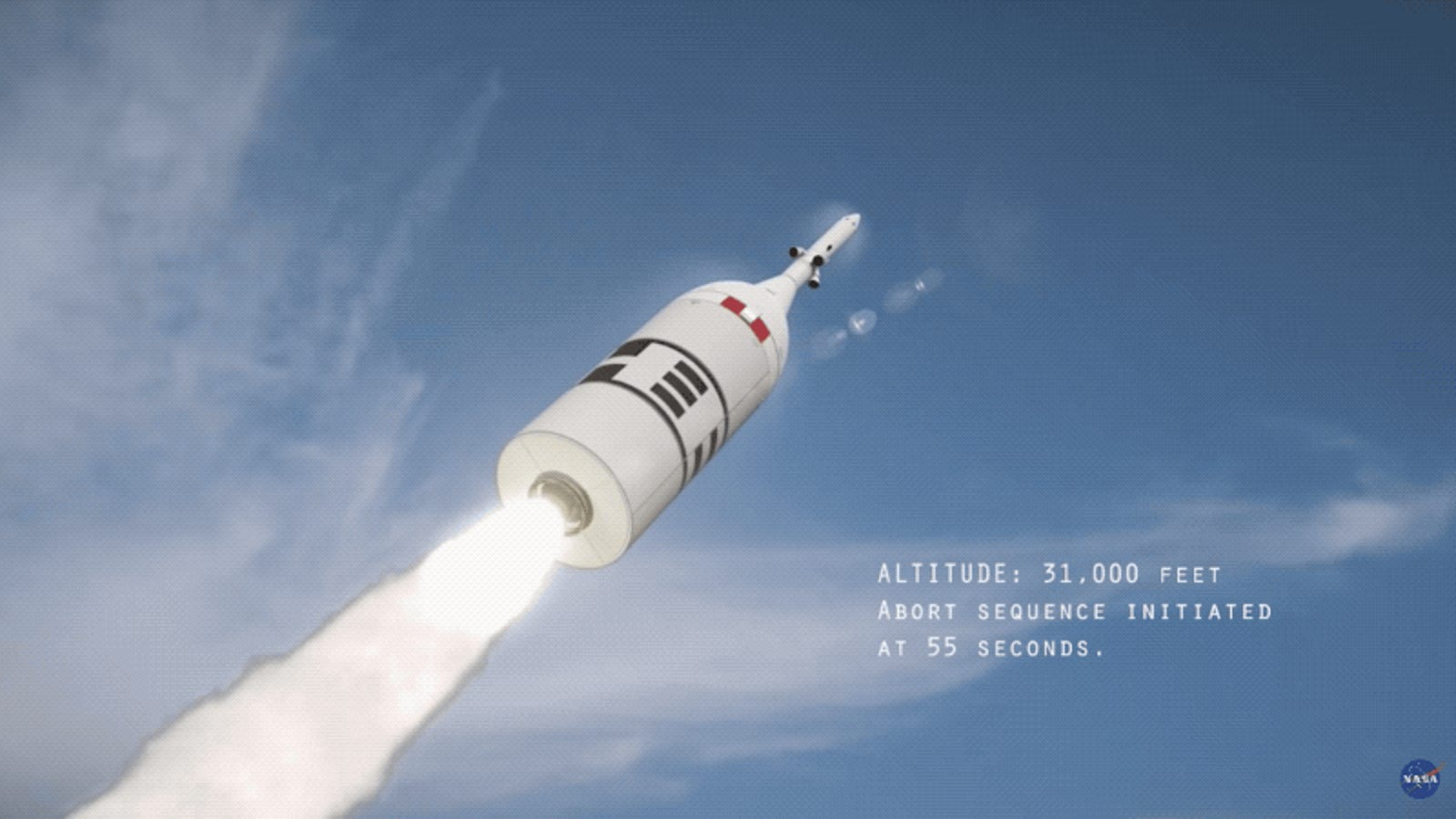 Aborting a Launch of NASA'S Orion Capsule Sounds Absolutely Horrifying