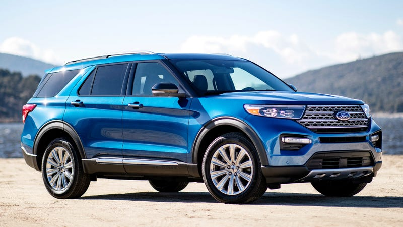 Illustration for article titled Here's Exactly How Much the 2020 Ford Explorer Will Jump in Price