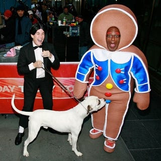 Illustration for article titled Al Roker Learns The Dangers Of Dressing As Desserts Around Dogs