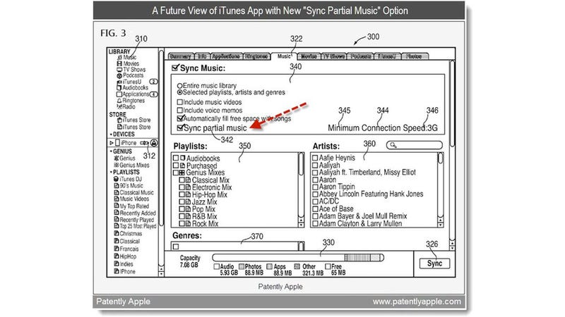 Illustration for article titled Apple's iTunes Cloud Patent Isn't What We Expected