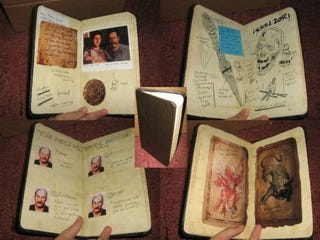 Illustration for article titled Nathan Drake's Notebook is for Sale on eBay