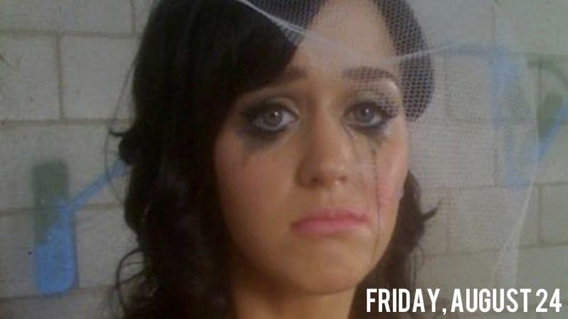 Illustration for article titled Shocking: John Mayer Hath Torn Katy Perry's Pez Dispenser Heart Asunder