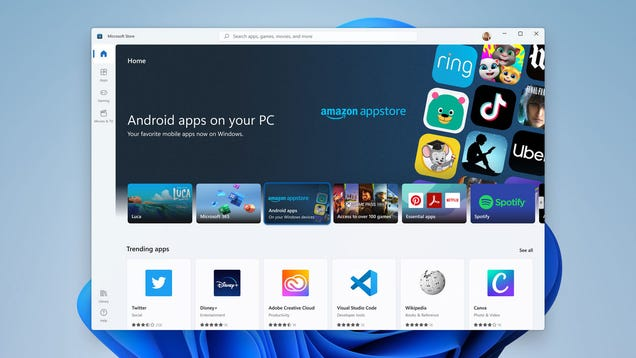 Windows 11 Might Let You Sideload Google s New Android App Bundles
