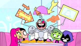 Illustration for article titled This week, watch the revamped Teen Titans Go!
