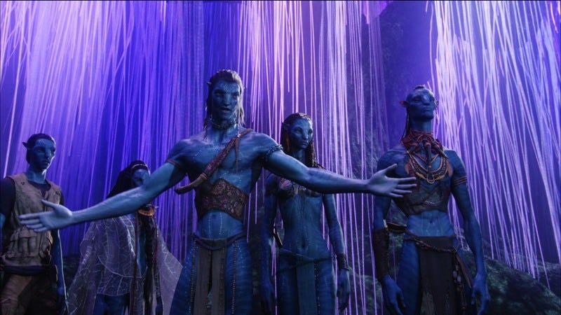 Avatars 2, 3, 4, and 5, seen standing behind Avatar 1. (Photo: Avatar)