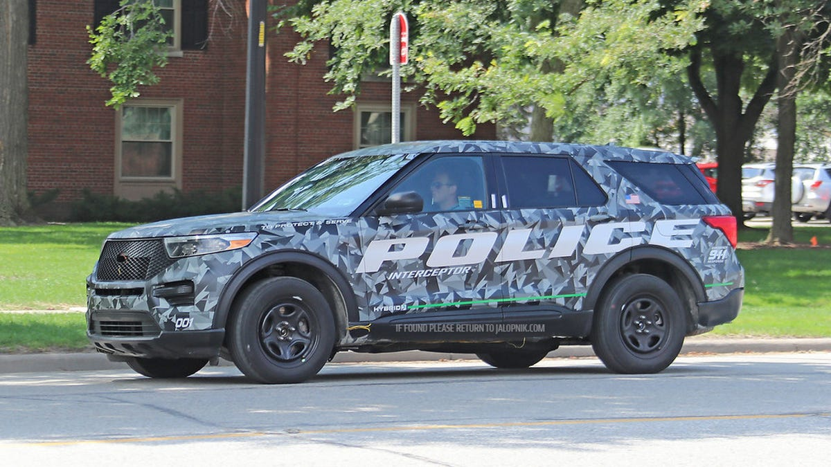 This is the 2020 ford explorer before youre supposed to see it
