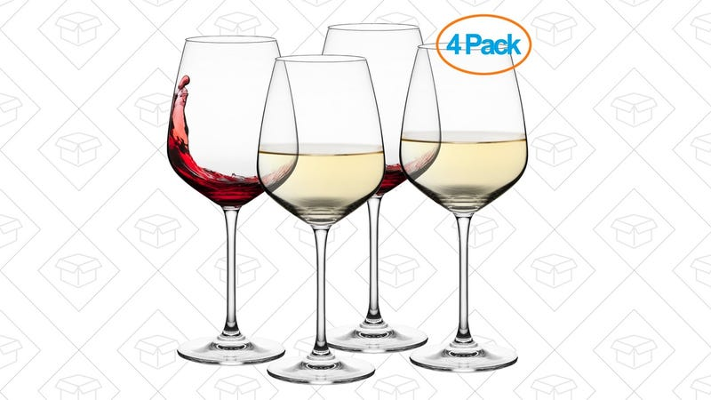 4 Wine Glasses | $15 | Amazon