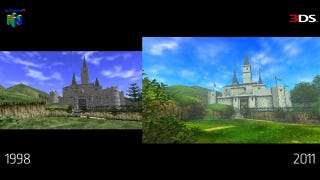 Illustration for article titled So How Much Better Does Ocarina Of Time Look On The 3DS?