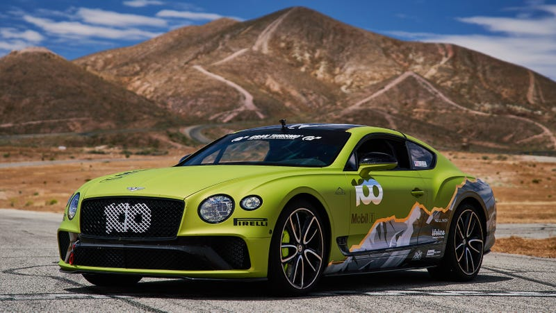Illustration for article titled Bentley Will at Least Send This Continental GT Up Pikes Peak in Style