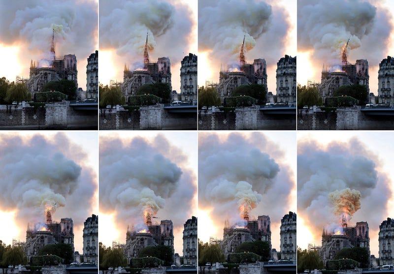 Illustration for article titled Por qué no se utilizaron aviones cisterna para apagar el fuego de la catedral de Notre Dame