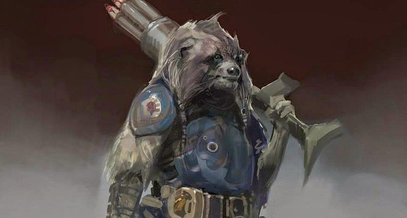 Illustration for article titled Los personajes de Guardianes de la Galaxia pudieron haber sido así