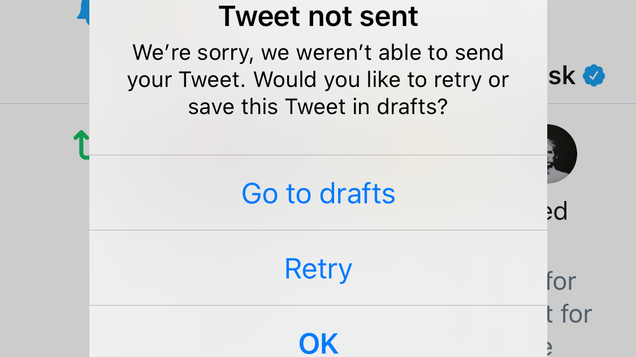 Twitter Finally Blocks the Worst of Us From Tweeting [Update: It Was Too Good to Last Forever]