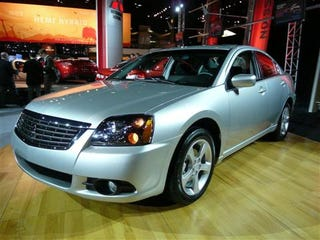 Illustration for article titled Chicago Auto Show: 2009 Mitsubishi Galant, Three Varieties of Boring