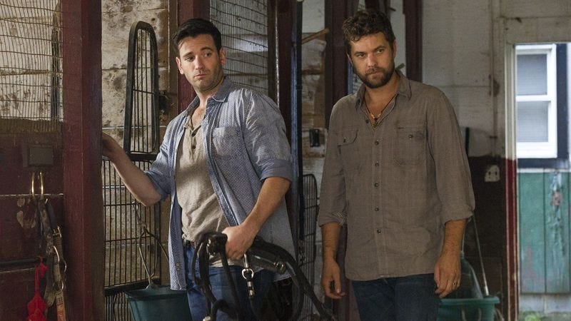 Colin Donnell (left), Joshua Jackson