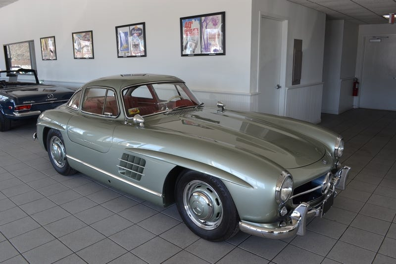 """Illustration for article titled Found On Ebay: 300SL Gullwing In """"Extraordinary Condition"""""""