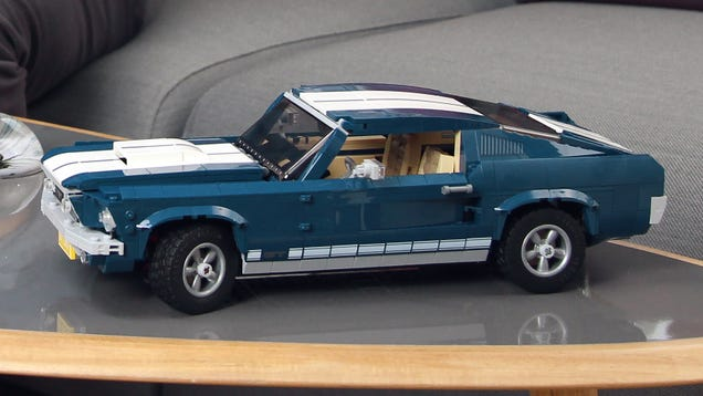 If You Can t Afford a Real 1967 Ford Mustang There s Always This Lego Version