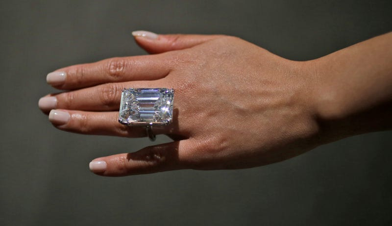 Who Wants To This Ridiculous 100 Carat Diamond Strange Wedding Rings