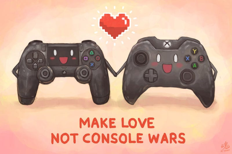 Illustration for article titled Console Wars (and PC Master Race): On Why They Need to Stop