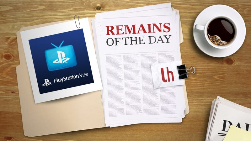 Illustration for article titled Remains of the Day: PlayStation Vue Now Lets You Watch Three Channels at Once