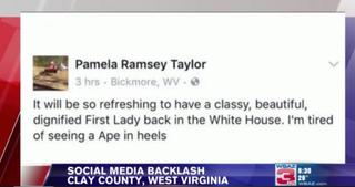 Facebook post that led to Pamela Taylor's firingWBAZ Screenshot