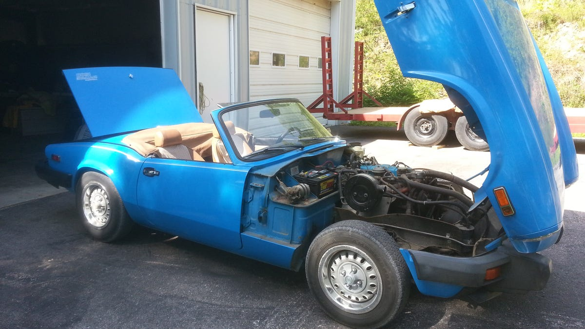 Heres What Its Really Like To Buy An Old British Sports Car Main Body Wiring Harness Triumph Spitfire