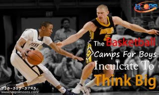 Illustration for article titled The Basketball Camps For Boys Inculcate To Think Big