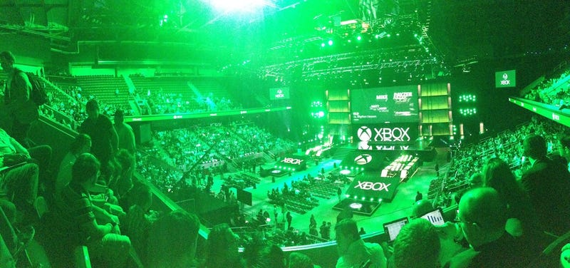 Illustration for article titled We're Liveblogging Microsoft's E3 2014 Press Conference (All Done!)