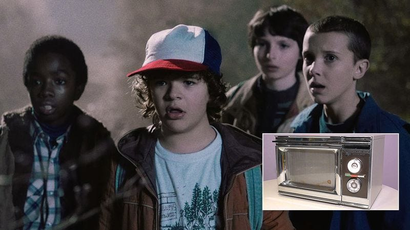 Illustration for article titled 'Stranger Things' Fans, Wean Yourself Off '80s Nostalgia With Pictures Of These '80s Microwaves