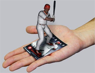 Illustration for article titled Topps 3D Live Brings Augmented Reality to Baseball Cards