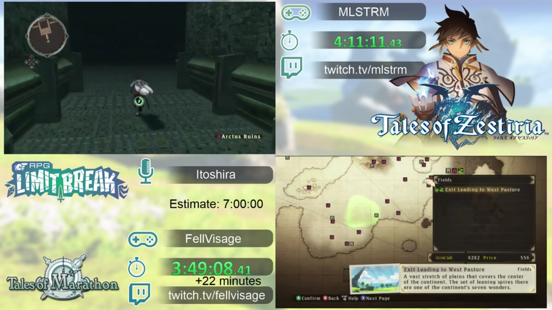 Tales Speedrunners Race Through Grand Epics In A Few Hours