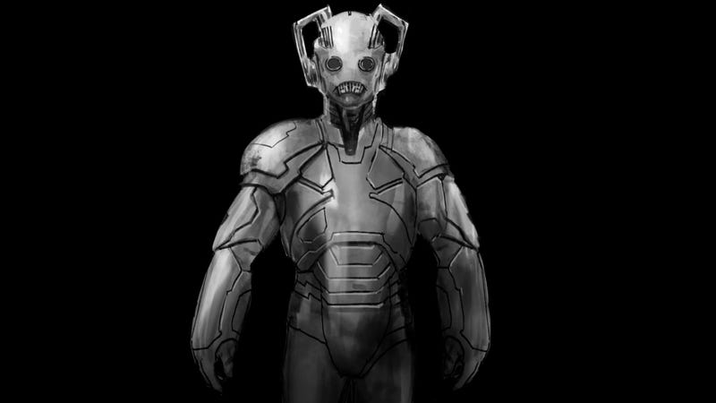 Illustration for article titled These Unused Cybermen Designs Are Utterly Creeptastic