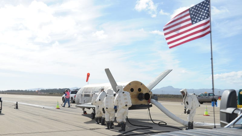 Air Force X-37B, via Boeing