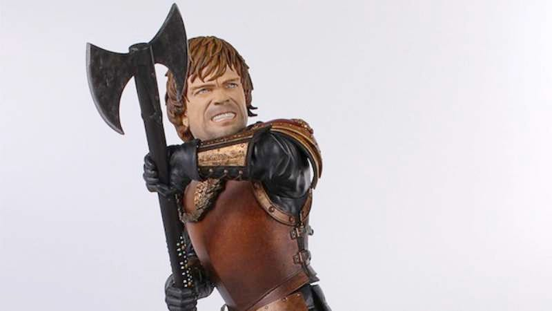 Illustration for article titled Win a statue of Game Of Thrones' Tyrion from Dark Horse