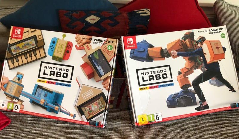 Illustration for article titled Nintendo Labo: he pasado un fin de semana montando piezas de cartón y he sido muy feliz