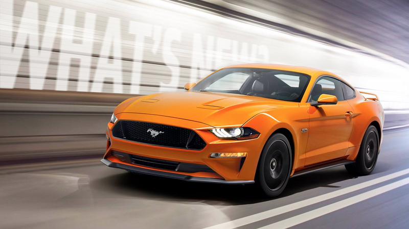 Illustration for article titled Here's Everything That's Changed On The 2018 Ford Mustang