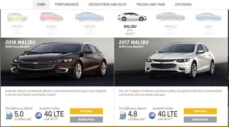 Illustration for article titled Even Chevy thinks the Malibu looks fat