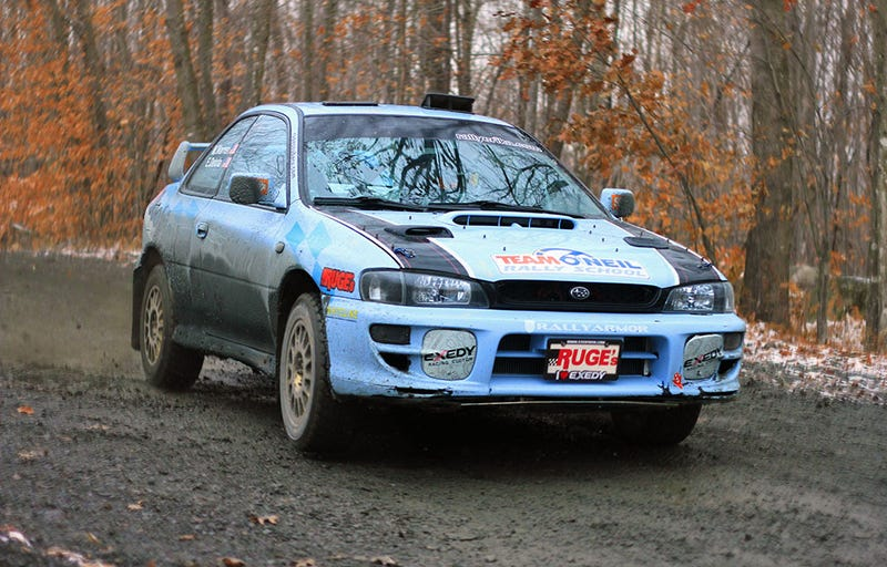 Illustration for article titled Team RallyErika to compete at Rally of the Tall Pines with a new sponsor and training
